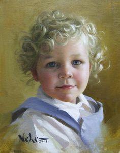 Portraits of children# Brian Neher