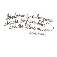 Kindness<3<3