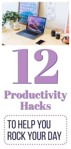 Everyone wants to be more productive. But sometimes it's easier said than done. There are distractions, deviations, and low energy days that keep you from really hitting your stride and knocking out your task list. Thankfully, there are a few tiny tweaks you can do in your everyday routine that can give you the edge you need. Check out these 12 productivity hacks to help you tackle the day! #productivityhacks #productivitytips #productivity #bemoreproductive Effective Time Management, Time Management Strategies, Bujo, Annoying Coworkers, Productivity Hacks, Increase Productivity, Routine, Journal Layout, Journal Diary