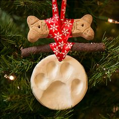 Make this easy pawsome ornament for the Howlidays.