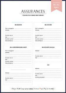 Kit Pour Ne Rien Oublier Vie De Miettes Organisation Quotidienne Rangement Papier Administratif