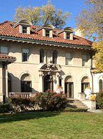 Berry Gordy's house, on Boston Ave., Detroit, Michigan