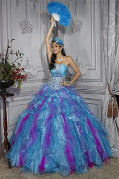 Quincea�era by House of Wu - 26683.  $600.00
