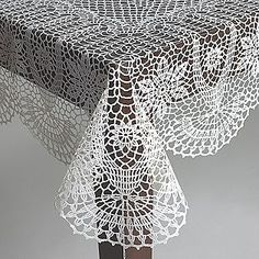 56 Best Crochet Table Cloths Images In 2016 Crochet Motif Crochet