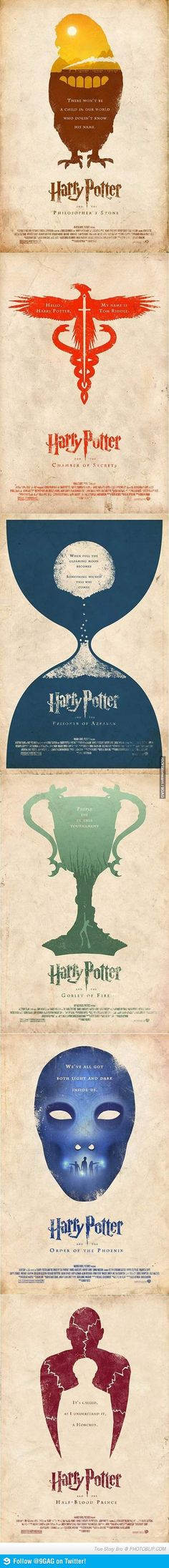 Alternate HP Posters  9gag