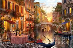 Venetian Sunset By Dominic Davision.....<3