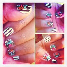 Betsey Johnson nails!