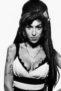 Amy Winehouse by Terry O'Neill