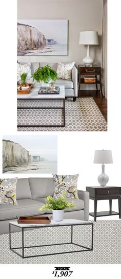 A Transitional Living Room designed by Vanessa Francis for only $1907 by @audreycdyer for Copy Cat Chic.