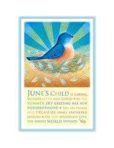 June's Child Print Bird in nest by TreasuredAndTrue on Etsy, $24.00