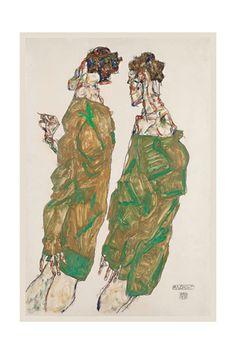 Egon Schiele Print - AllPosters.ca