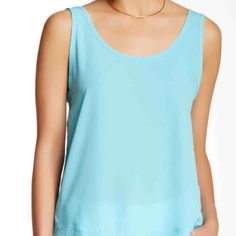 Teal Scoop Neck Tank Teal Scoop Neck Tank. NWT. Flattering, flowy silhouette makes a great pair with cut offs in the summer and a great layering piece for the fall. Harlow & Graham Tops Tank Tops