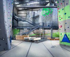 2nd Floor Climbing Area | WEST