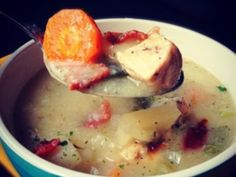 poblano bacon chicken chowder