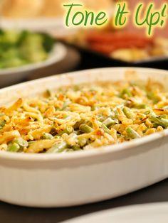 gluten free/vegan green bean casserole :)