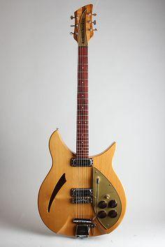 1958 Rickenbacker Model 335 Capri Semi-Hollow Body Electric | Reverb