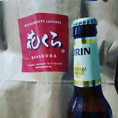 Hace mucho calor en la calle así te llevamos #Hanakura a casa tenemos cerveza japo muy fresquita 914454691