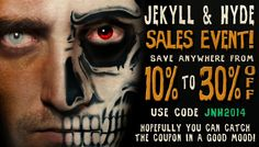 Our current sale going on now until 10/10/14. Happy Halloween month!