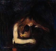 Edvard Munch, Vampires, 1893