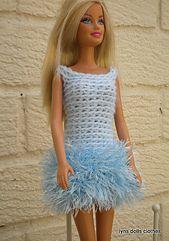 Ravelry: Barbie's fluffy dress pattern by linda Mary