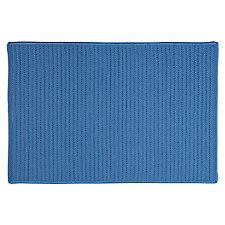 Outdoor Reversible Rug, Blue Ice
