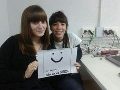 Alba y Yani también regalan su sonrisa