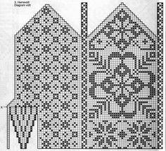 Klassiske vottar – Eg sa strikk! Knitting Charts, Knitting Socks, Knitting Stitches, Knitting Patterns Free, Hand Knitting, Knitted Mittens Pattern, Crochet Mittens, Knitted Gloves, Hand Warmers