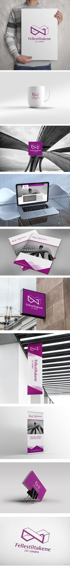 Visual identity for Fellestiltakene in Norway. #design #branding #identity #graphicdesign