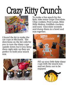 Crazy Kitty Crunch Snack Mix - LynnDavisCakes.com