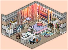 Apartment Bedroom For Girls by Cutiezor.deviantart.com on @DeviantArt