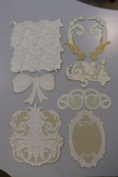 Anna Griffin Garden Inspired Wedding Die Cuts by LindasPapers