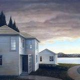 1986_state_house Nz Art, House Painting, Kiwi, Painters, New Zealand, The Neighbourhood, Arts And Crafts, Houses, Sky