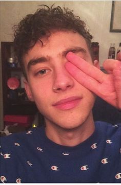 Olly Alexander from the Band ...Year & Years.