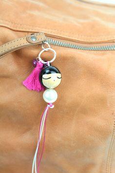 Zip Girls Nacre : LeS PoiS PlumeS, la boutique