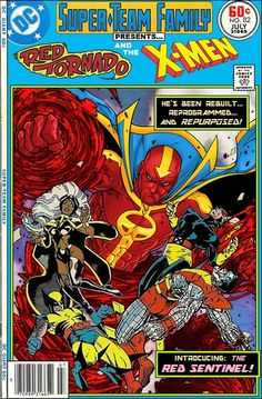 Super-Team Family: The Lost Issues!: Red Tornado and The X-Men