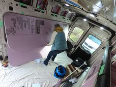 Ford Transit insulation timelapse 23 March 2019 Ford Transit Conversion, 23 March, Insulation, Home Appliances, Camping, House Appliances, Campsite, Thermal Insulation, Appliances