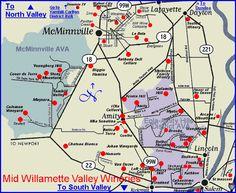 Mid Willamette Valley Wineries