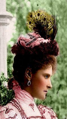 The Romanovs. Alexandra Feodorovna (1872 – 1918), Empress of Russia, spouse of Nicholas II.