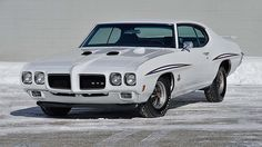 1970 Pontiac GTO Judge 400/366 HP, 4-Speed presented as lot F244 at Indianapolis, IN 2015 - image1