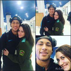 "fzneymar: ""21.10.2015 Neymar & Fan #repost #instagram @daryakosaya ••• guapo love amar #fcbarcelona #neymar #neymarjr @neymarjr """