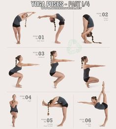 Get free Chart of 26 Bikram Yoga Poses. These Chart Will ...