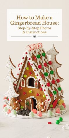 How to Make a Gingerbread House: Step-by-Step Photos