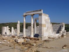 Temple of Demeter on Naxos