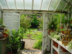 """Get fantastic recommendations on """"greenhouse plans"""". They are available for you on our site. Backyard Greenhouse, Greenhouse Plans, Plant Projects, Garden Cafe, Potting Sheds, Shade Plants, Garden Gifts, Glass House, Growing Plants"""