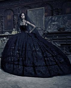 Dolce & Gabbana, Haute Couture by Paolo Roversi for Vogue Italia, September 2012