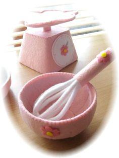 フエルトでパンケーキセット♪の画像:handmade kitchen