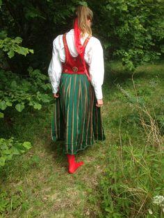 Orimattila dräkt från Finland som jag fick av min mamma många år sedan hon har fått den i sin tur av sin faster som fick den i början av 1900talet