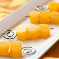 Mimosa Jelly Shots