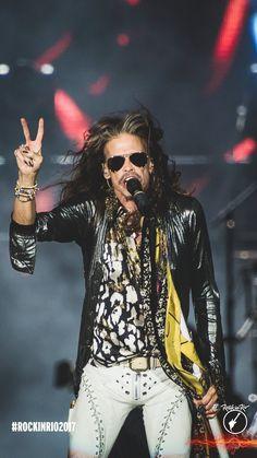 Steven Tyler, Aerosmith #rockinrio 2017