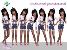 Sims 4 Updates: BTB Sims – MartyP - Poses : Natural Poses Set, Custom Content Download!